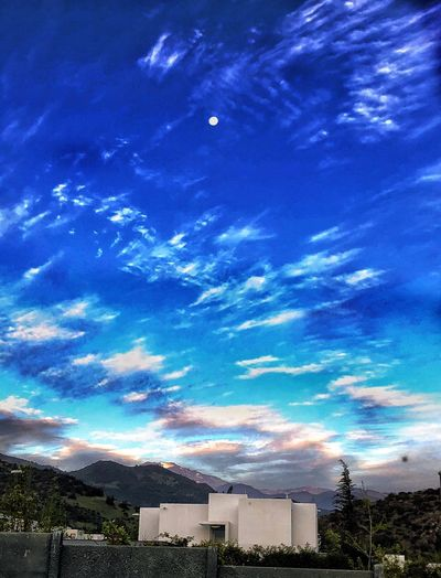 Sky Architecture Building Exterior Built Structure Blue Nature Cloud - Sky