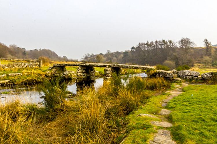 Cornwall Darthmoor Landscape Natural Park Non-urban Scene Outdoors Post Office Bridge Rural Scene Tranquility Bridge Ponte River