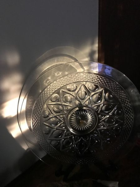 Glass plate in my home. Sunlight hitting it perfectly. Indoors  Pspauly63 Journey Spirituality