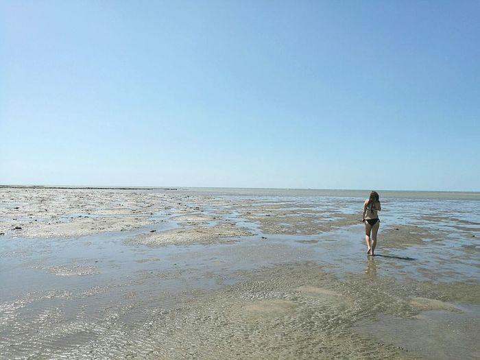 Beach Horizon Over Water Sea Water Sand Walking Beauty In Nature Nature Beauty In Nature