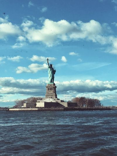 Vintage Statue of Liberty Travel Monument Travel Destinations NYC Liberty Statue