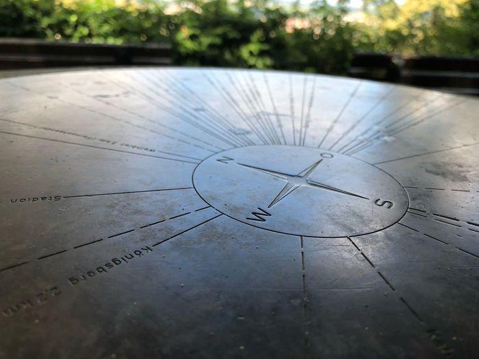 Photography Neustadt An Der Weinstraße Himmelsrichtung Anzeiger Kompass Kompas Metall