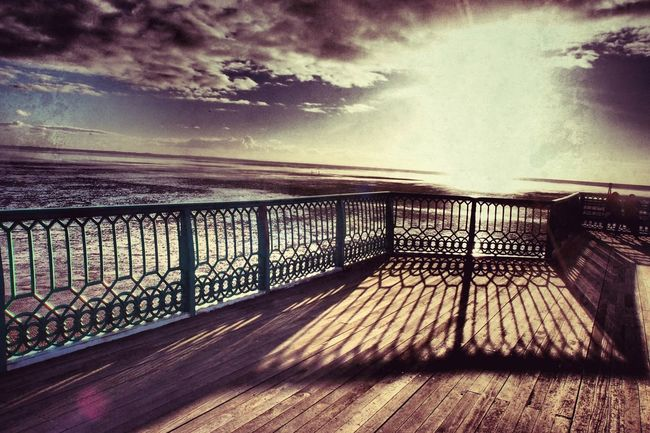 Day at the seaside Stannes Lythamstannes Pier Sunset