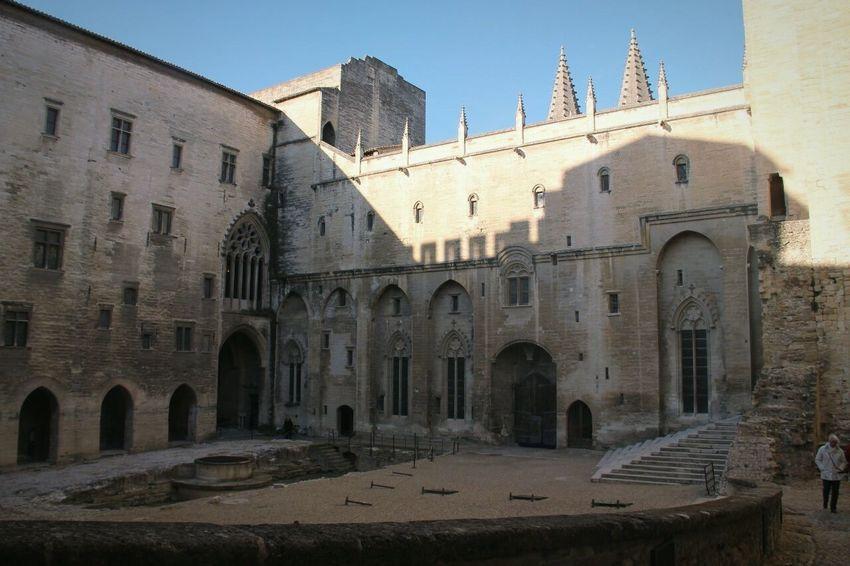 Avignone Cattività Avignonese Avignon Avignon City Avignon Papacy Place Du Palais Palazzo Papale Palazzo Dei Papi Hystory Hystorical Place Storia Luoghi Storici France Avignon, France