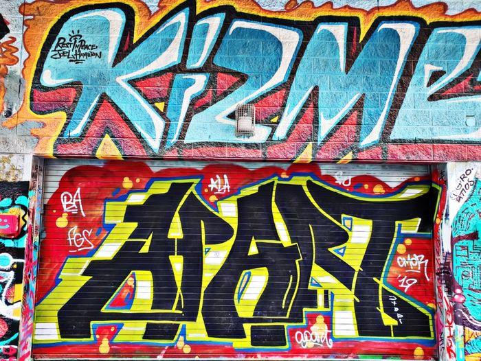 Graffiti: APART