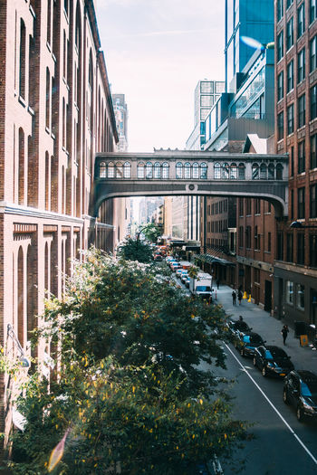 New York Meatpacking District Outdoors City Built Structure Architecture Street Connection