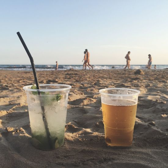 Being A Beach Bum Drinking Beer Mojito! Sitges Summer Sommergefühle