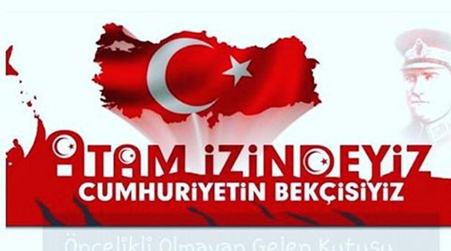 Cumhuriyet bayramınız kutlu olsun. Cumhuriyetinesahipcikturkiye Oyver Tatilyapmaoyver Yikilmayacagiz