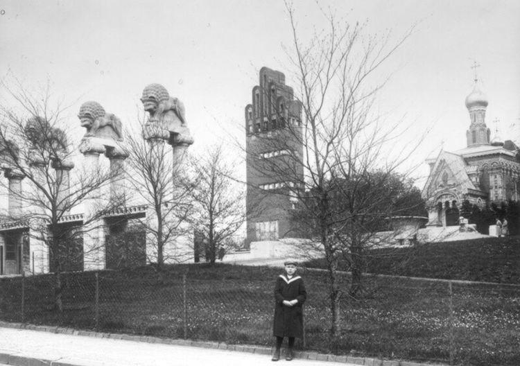 Mathildenhöhe 1916