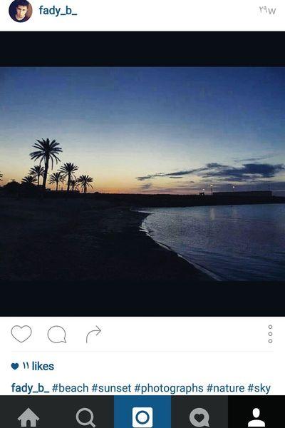 Beach Check This Out Eyem Best Shots Instalike Like4like Follow Sky Sunset Holiday Beuityful