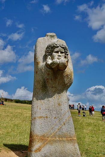 Sculpture La Vallée Des Saints