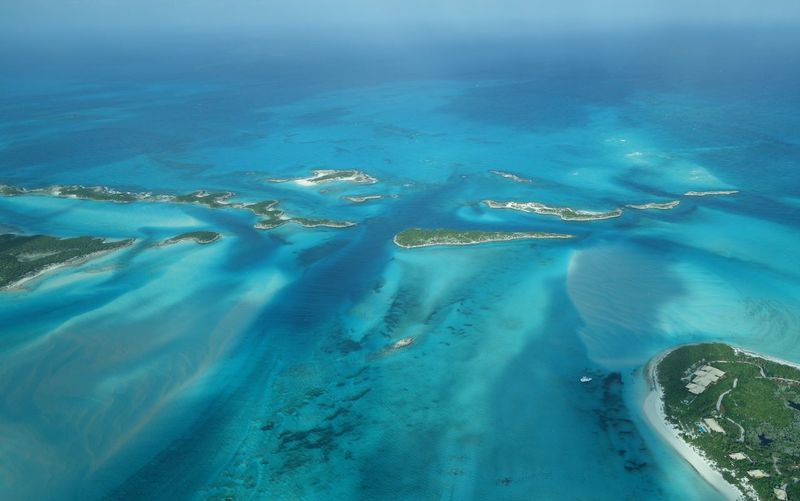 Northern Exuma Cays Bahamas Aerial Shot Aerial View Beauty In Nature Exuma Travel Destinations Beach Sea And Sky Sea Ocean Outdoors Travel Photography Nature