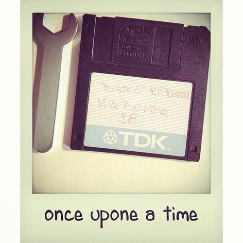 C'era una volta... #win98 #format #disk Disk Win98 Format