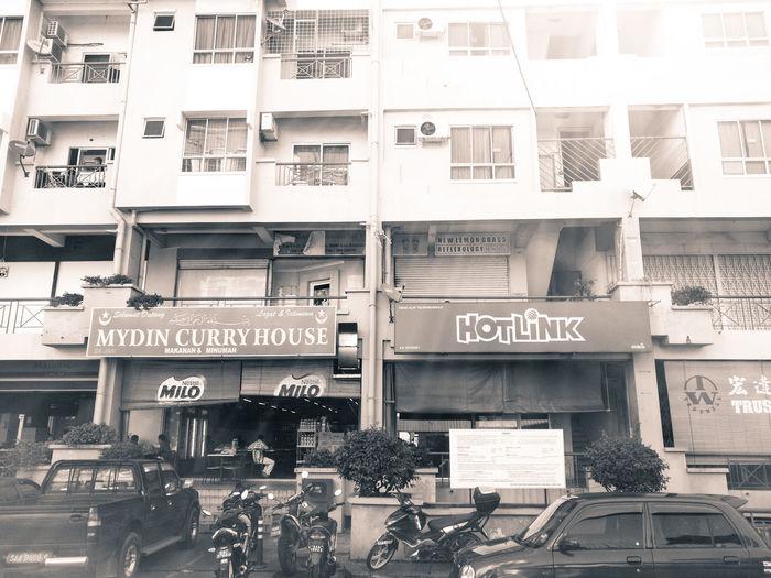 Kota kinabalu, Sabah City Buildings Stall Gerai Curry Travel Malaysian Food Malaysia Truly Asia Street