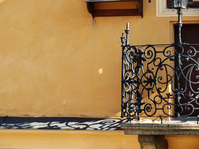 Balcony at building