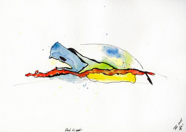 Just uploaded to Saatchi Online... Art Painting Saatchi Saatchi Gallery Cadaqués Catalunya Daffkehollstein