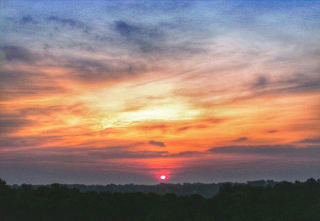 Firebird Suite: Destruction of Night Sunrise Cloud And Sky Nature Silhouette