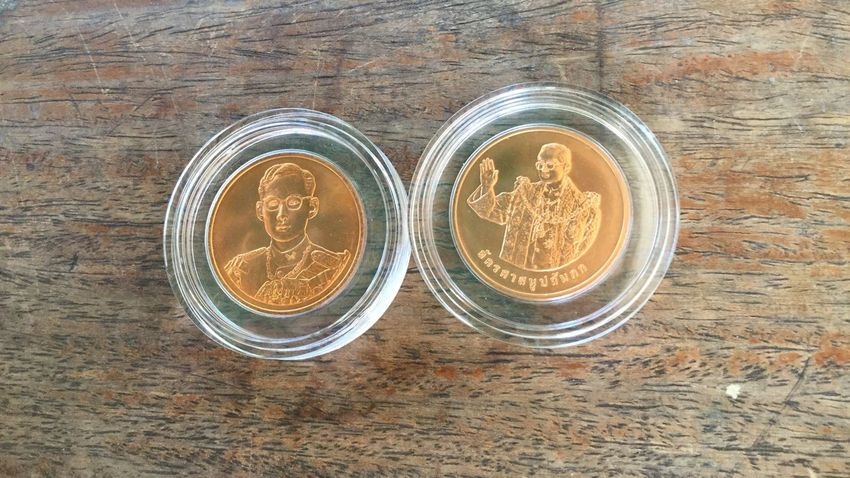 Thailand Coin Close-up No People Cions Thaicoins