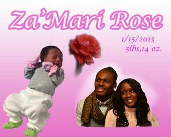 s/o too my Sister && Draion :))) welcome Za'Mari Rose Taylor !