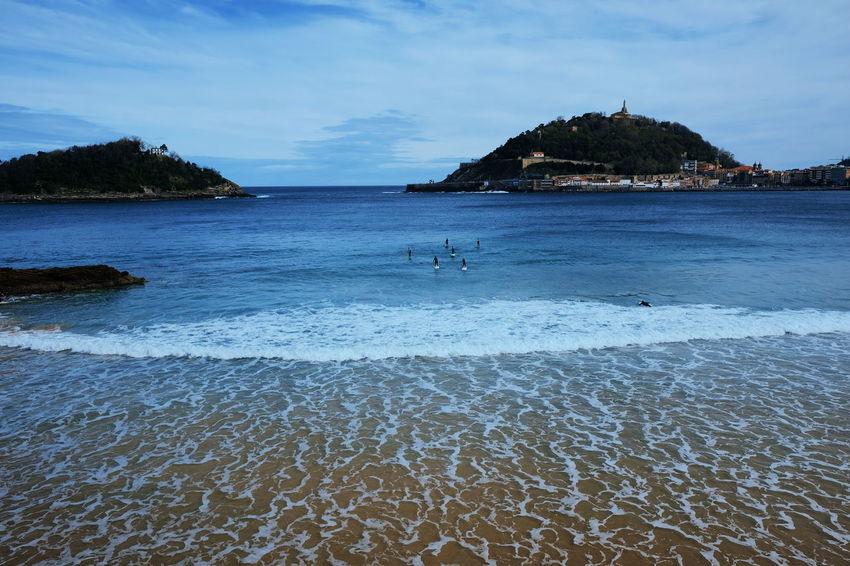 San Sebastian SPAIN UnderSea Water Sea Wave Beach Sea Life Swimming Sand Tree Blue Seascape Island Coastline Coast Bay Of Water Surf
