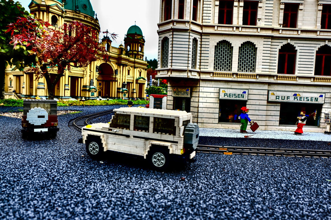 Architecture Building Exterior Built Structure City Day Land Vehicle Lego Building Lego Cars Lego Minifigures Lego Star Wars  Legoland Legominifigures Legophotography Mode Of Transport No People Outdoors Street Transportation