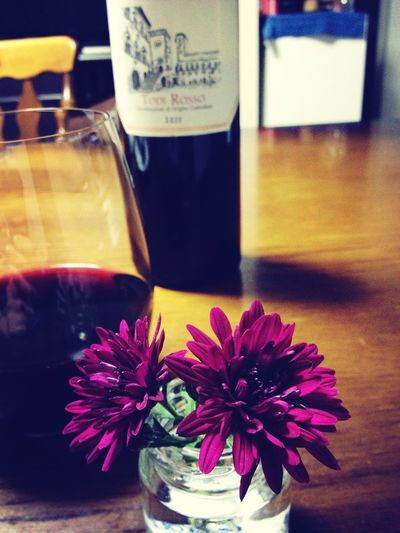 Flowers Wine Relaxing