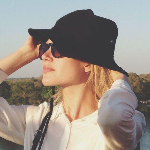 Woman Hat Sunglasses Sun