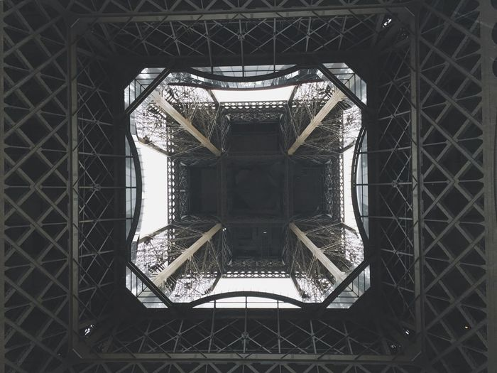 Eiffeltower - from below. First Eyeem Photo
