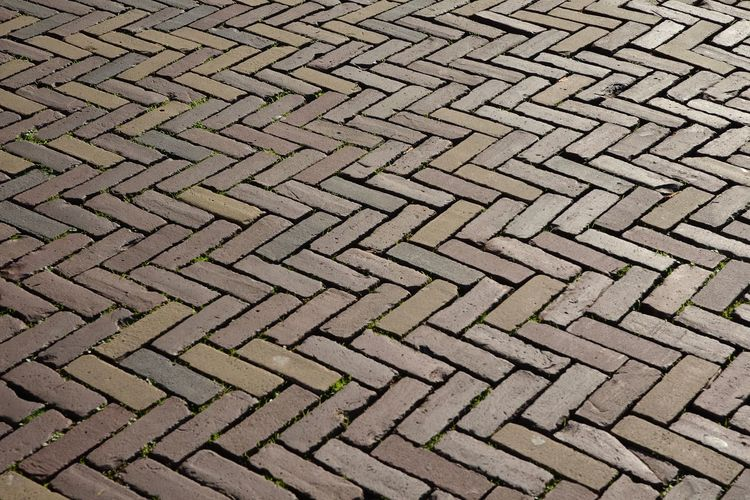 Backgrounds Close-up Day Design Footpath Full Frame High Angle View No People Outdoors Pattern Repetition Shape Street Textured