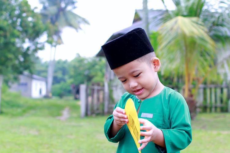 A Malay boy in