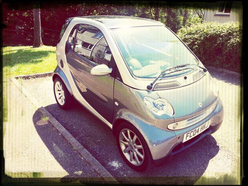 Smart Car Think I need some Showroom Shine.
