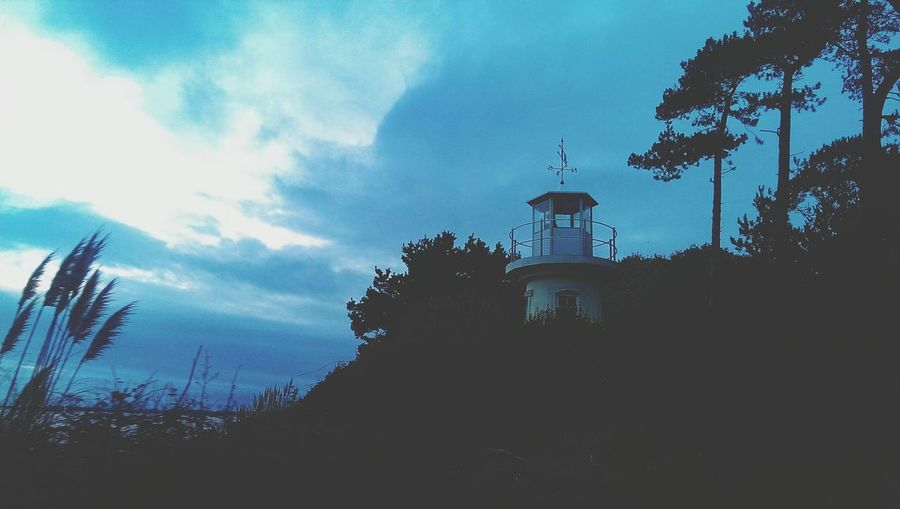 Hello World Check This Out Taking Photos Sunset_collection lighthouse Lighthouse Skies Skies And Clouds Hampshire