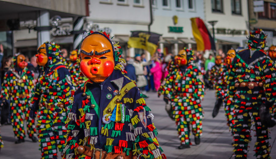 Fasching 2019 EyeEmBestPics EyeEm Best Shots EyeEm Selects Photography Festival City Life EyeEm Best Edits Streetphotography Clown Portrait Party - Social Event Arts Culture And Entertainment Celebration City Carnival - Celebration Event Mask - Disguise Traditional Dancing Traditional Clothing Parade Carnival Traditional Culture
