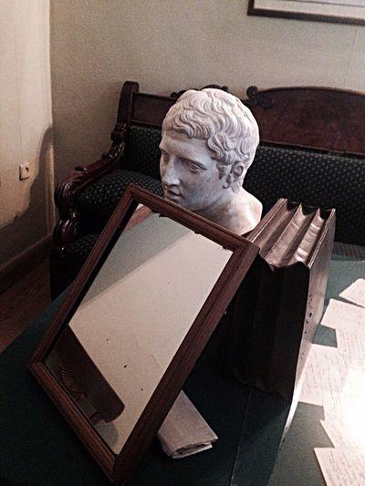 Pushkin  Wohnzimmer