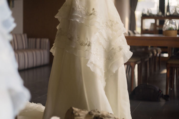 Low Section Of Bride