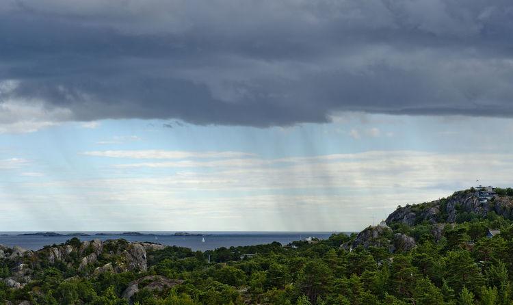 Cloud - Sky Horizon Over Water Kjerringvik Larvik Nature Nikon No People Norge Norway Outdoors Rain Sandefjordsfjorden Scenics Sea Showers Sky Storm Cloud Tjølling Vestfold Weather