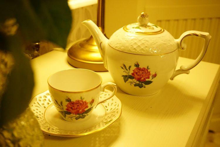 vintage tea Coffee Cup TeaCup Vintage Style Vintage Teacups Home Decoration  Antique Teapot Tea Ceremony Old-fashioned