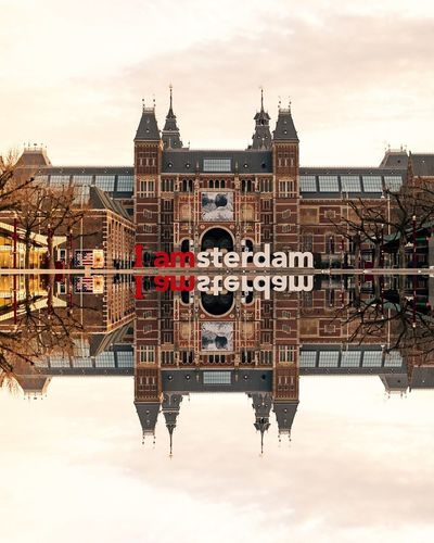 EyeEm Selects Amsterdam Architecture Built Structure Building Exterior Water Sky Reflection Day River Travel Destinations Waterfront Outdoors Amsterdam City No People