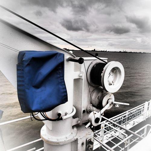 original, shot with filter on a ferry to borkum