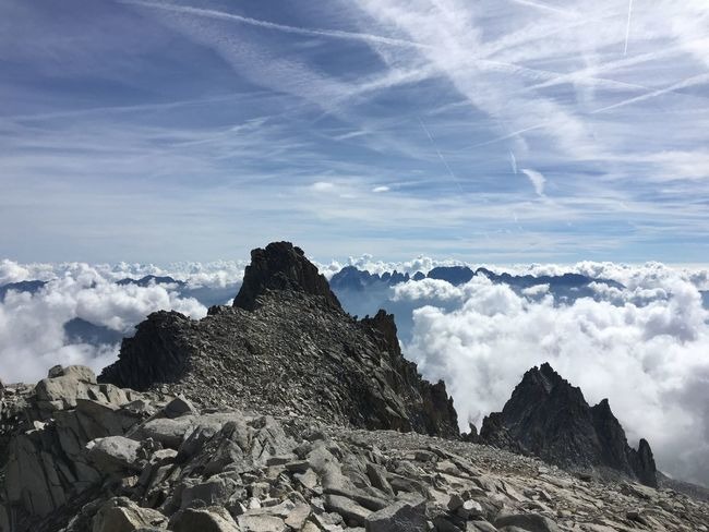 Presanella Alpinism Alps Trecking EyeEm Selects Sky Cloud - Sky Beauty In Nature No People Nature Day Mountain Outdoors