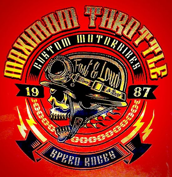 Tshirts Tshirt T Shirts T Shirt Fast & Loud Tee Shirt Maximum Throttle Speed Club Custom Motorbike Custom Motorcycle Tshirt♡ T Shirt Collection T Shirt T Shirt Design T Shirt Art Tshirtcollection Tshirtporn T Shirt Tshirtart Tshirtdesign 1987 Est. 1987 Skull T Shirts SkullTshirts Skullduggery