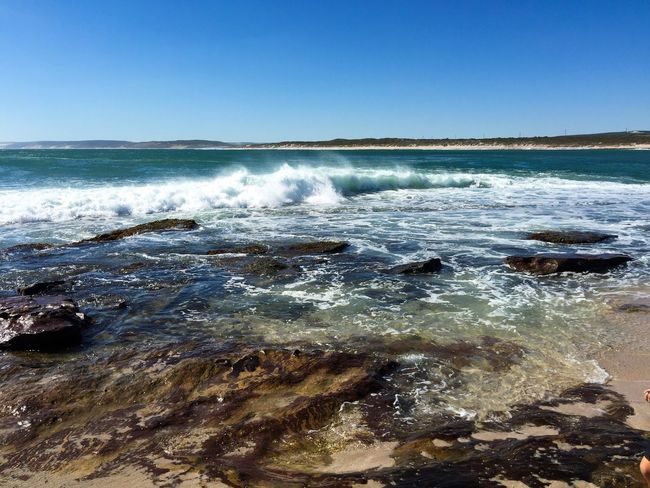 Jake's Point: Kalbarri, Western Australia Ocean Meditation Water_collection Tide Landscape Beach Western Australia Australia Ocean And Sky Nature Seascape Kalbarri Waves Indian Ocean Travel Destinations Water Sea (null)Blue Stress Relief Tranquil Scene Rock Jake's Point Beach Photography Travel Photography