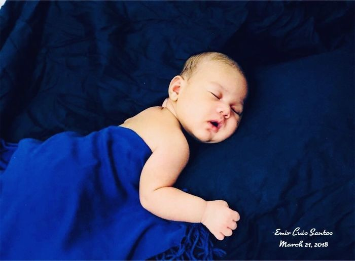 Baby navy blue