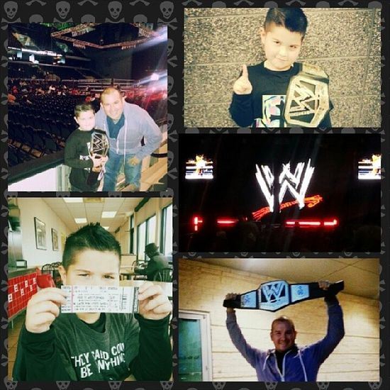 Awesome night watching WWE Live...can't wait for Smackdown in July.