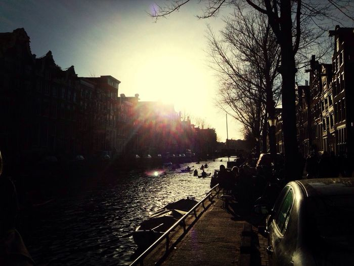 Amsterdam Sunset Streetphotography Cityscapes