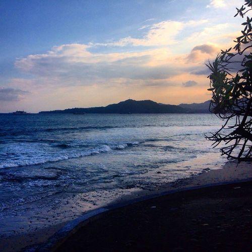 Eat pray love. Bali Beach Ocean Lanscape
