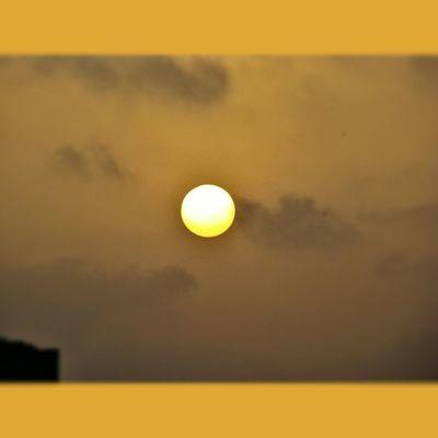 - Sunset .. ! :)