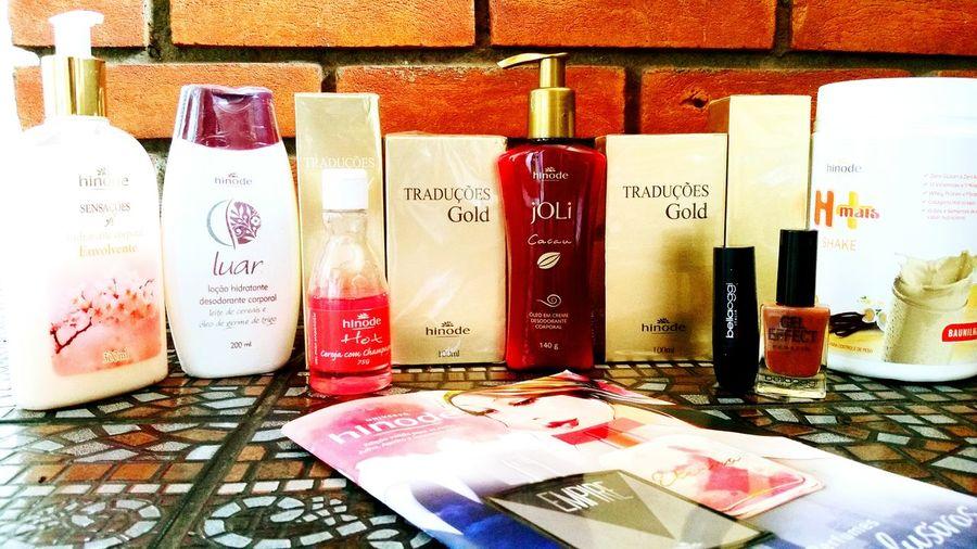Perfumes, cremes, shake, hot, maquiagens e muito mais. Pronta entrega! Entre em contato! Hinode