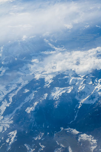 Alps from the plane Cloud Scenic The Alps Wintersport Alps Beauty In Nature Birdview Blue Cloud - Sky Cold Temperature Day Nature No People Outdoors Scenics Sea Sky Snow Swiss Alps The Natural World Tranquil Scene Tranquility Water White Color EyeEmNewHere An Eye For Travel