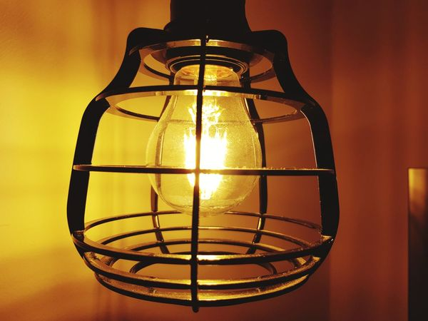 No People Yellow Indoors  Close-up Lamp Lamplight Lamp Design Light And Shadow Lights Light In The Darkness Light Up Your Life Light Bulb